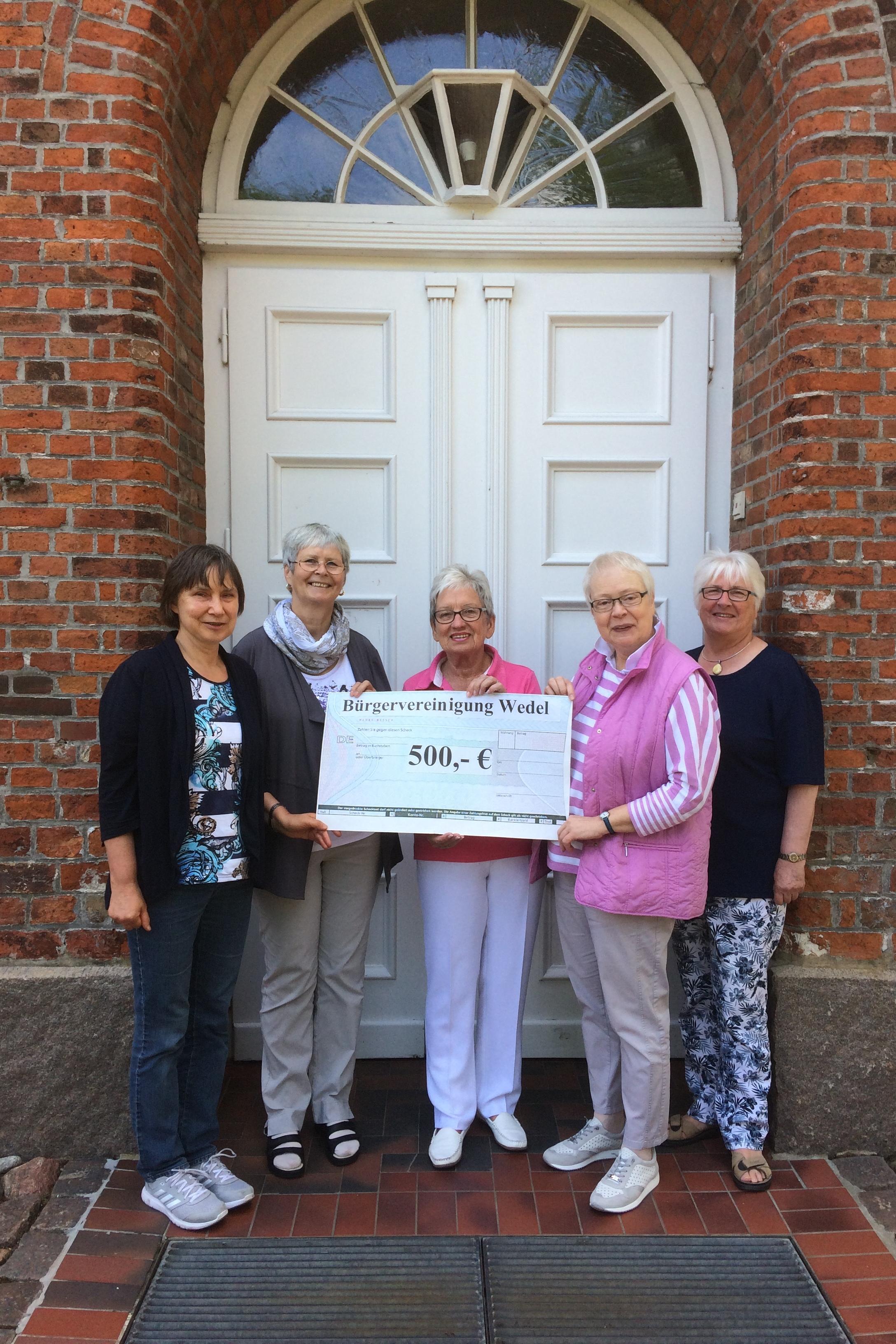 Spende an das Freiwilligen-Forum Wedel